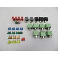 03 Mini Cooper S R50 R52 R53 #1060 Relay Fuse Set OEM 33PCS