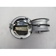 03 Mini Cooper S R50 R52 R53 #1060 Fuel Gas Cap Lid Door Chrome OEM