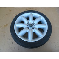 "03 Mini Cooper S R50 R52 R53 #1060 17"" Factory OEM Wheel Set W/ Tires 8 Spoke"