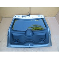 03 Mini Cooper S R50 R52 R53 #1060 Rear Trunk Lid Hatch Assembly W/ Spoiler Grey