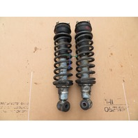 83-95 Porsche 928 S4 #1061 Rear Adjustable Shock Strut Spring Pair 92833305116