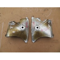 1978-1995 Porsche 928 S4 #1061 Front Brake Air Duct Dam Pair Baffle