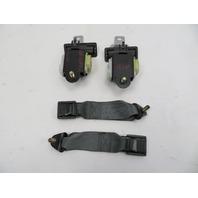 1986-1992 Toyota Supra MK3 #1062 Rear Grey Seatbelt Set Clip Receiver Left Right