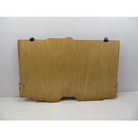 1986-1992 Toyota Supra MK3 #1062 OEM Trunk Wood Floorboard Spare Cover