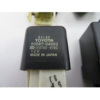 1986-1992 Toyota Supra MK3 #1062 13 PCS Relay Fuse Set OEM