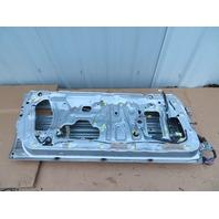 1986 Toyota Supra MK3 #1062 Left Driver Door Shell Silver Metallic