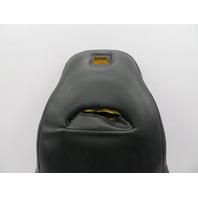 1997-2004 Chevrolet Corvette C5 #1063 Driver Seat Leather Backrest Cushion Black
