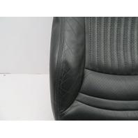 1997-2004 Chevrolet Corvette C5 #1063 Passenger Seat Leather Bottom Cushion Black
