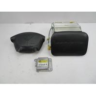1997-2004 Chevrolet Corvette C5 #1063 Driver Passenger Airbag SRS Set W/ Module