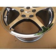 1997-2004 Chevrolet Corvette C5 #1063 18 x 9.5 Rear Polished 5-Spoke Wheel OEM