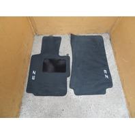 01 BMW Z3 Roadster E36 #1064 OEM Floor Mats Carpet Black OEM