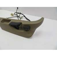 97 BMW Z3 Roadster E36 #1065 Seat Frame Track Cover Trim & Switch Right Beige