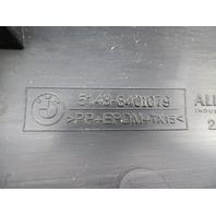 97 BMW Z3 Roadster E36 #1065 A-Pillar Trim 8401079 & 8401080 Black