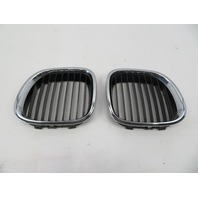97 BMW Z3 Roadster E36 #1065 Left Right Hood Kidney Grill Pair OEM