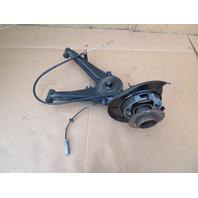 97 BMW Z3 Roadster E36 #1065 Left Trailing Control Arm Hub Knuckle Spindle
