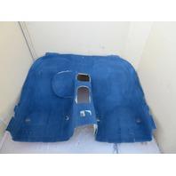 98 BMW Z3 M Roadster E36 #1066 Main Interior Black Carpet Rear Section OEM