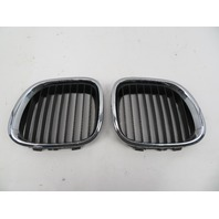 98 BMW Z3 M Roadster E36 #1066 Left Right Hood Kidney Grill Pair OEM