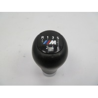 98-03 BMW 540i M5 E39 #1067 Manual 6 Speed Weighted Shift Knob, Black Leather