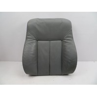 BMW 540i E39 #1067 Comfort Leather Seat Backrest Cushion W/ Heat Left Right Grey