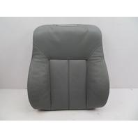 BMW 540i E39 #1067 Comfort Leather Seat Backrest Cushion W/ Heat LH or RH Grey