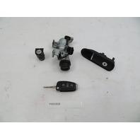 2011 Audi R8 V10 #1068 Ignition Lock Set, Door Handle, Glovebox & FOB Key