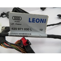 2011 Audi R8 V10 V8 #1068 Door Wire Wiring Harness Pair Left Right