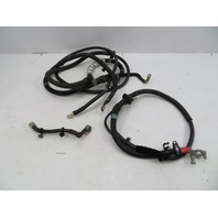 2011 Audi R8 V10 #1068 Battery Cable Wire Negative & Positive Set