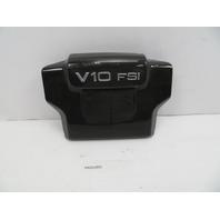 2011 Audi R8 V10 #1068 Carbon Fiber Engine Cover Trim OEM