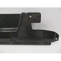 2011 Audi R8 V10 V8 #1068 Carbon Fiber Engine Cover Firewall Trim OEM