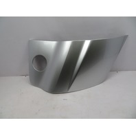 2011 Audi R8 V10 #1068 Side Blade Cover Trim OEM, Right Passenger Side Silver
