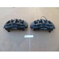 2011 Audi R8 V10 V8 #1068 8 Piston Front Brembo Brake Caliper Pair Left & Right
