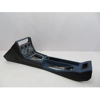 BMW Z3 M Roadster E36 #1069 Leather Center Console Complete Gauges Black/Blue