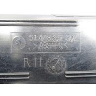 """98 BMW Z3 M Roadster E36 #1069 OEM Door Sill Set """"M Script"""""""