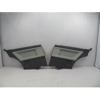 1995 BMW M3 E36 Coupe #1070 Rear Interior Quarter Panel Trim Pair Grey