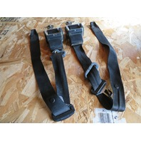 1995 BMW M3 E36 Coupe #1070 Front Left & Right Seat Belt Pair Black