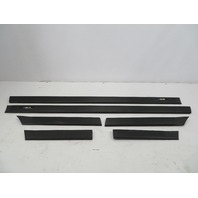 1995 BMW M3 E36 Coupe #1070 Exterior OEM Body Side Moulding Set Black