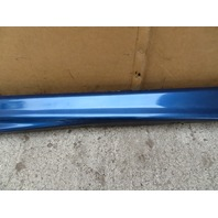 1995 BMW M3 E36 Coupe #1070 Side Skirt Rocker Moulding Left OEM Blue