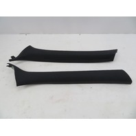 01-06 BMW M3 E46 #1071 Cloth Black A-Pillar Pair