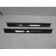 """01-06 BMW M3 E46 #1071 """"M3"""" Script Door Sills Scuff Trim 51478204114 51478204114"""