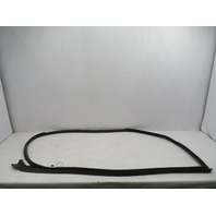 01-06 BMW M3 E46 #1071 Coupe Left Driver Door Seal Weatherstrip 7126137