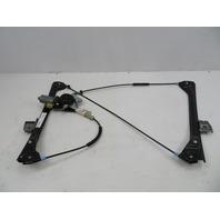 01-06 BMW M3 E46 #1071 Left Door Window Motor & Regulator 51338229105 OEM