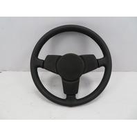 78-83 Porsche 911 SC #1072 3-Spoke Sport Steering Wheel W/ Horn Black