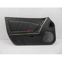 2004-2009 Cadillac XLR #1073 Black Door Panel, Left Driver Side