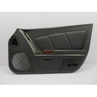 2004-2009 Cadillac XLR #1073 Black Door Panel, Right Passenger Side