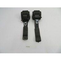 2004-2009 Cadillac XLR #1073 Black Seatbelt Pair Left & Right