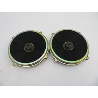 2004-2009 Cadillac XLR #1073 OEM Bose Door Speaker Pair Woofer