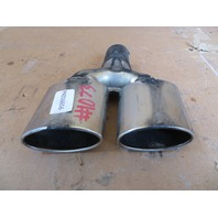 2004-2009 Cadillac XLR #1073 Dual Muffler Tip Pair Left & Right OEM