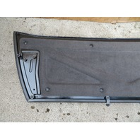 2004-2009 Cadillac XLR #1073 Trunk Tonneau Cover Lid Panel BLACK