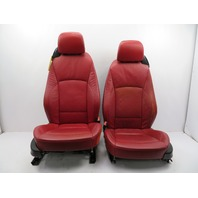2003-2008 BMW Z4 E85 E86 #1075 Red Leather Power Heated Memory Seats