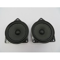 2003-2008 BMW Z4 E85 E86 #1075 OEM Door Mid-Range Speaker Pair